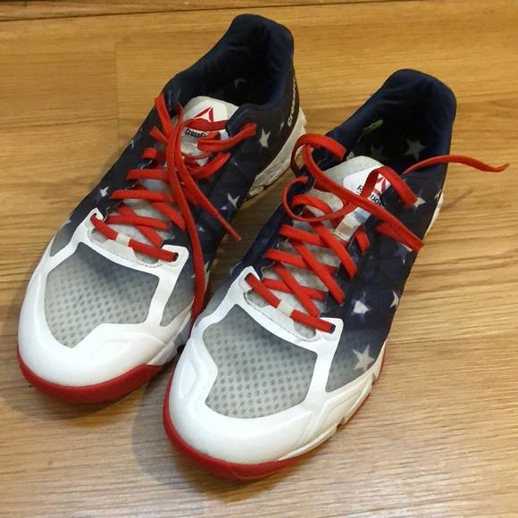 reebok crossfit american flag shoes